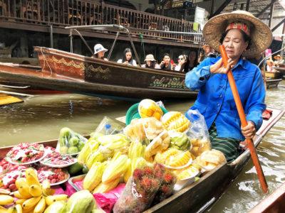 Mercado flotante de Bangkok [CÓMO LLEGAR + VÍDEO]