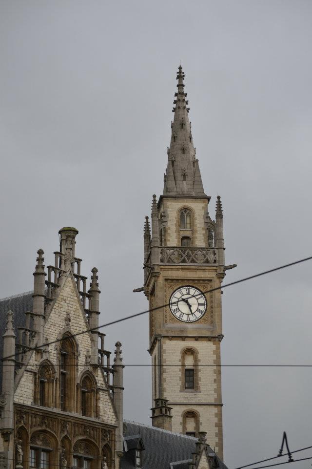 Viaje en autocaravana por Europa: Gante