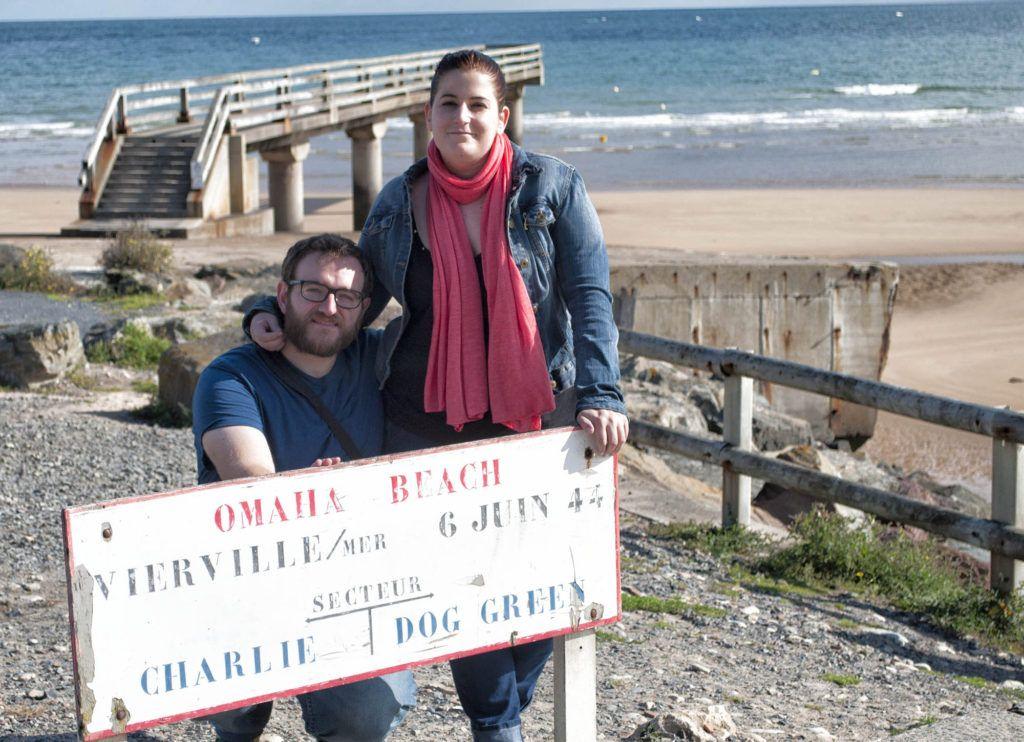 Viaje en autocaravana por Europa: Omaha Beach