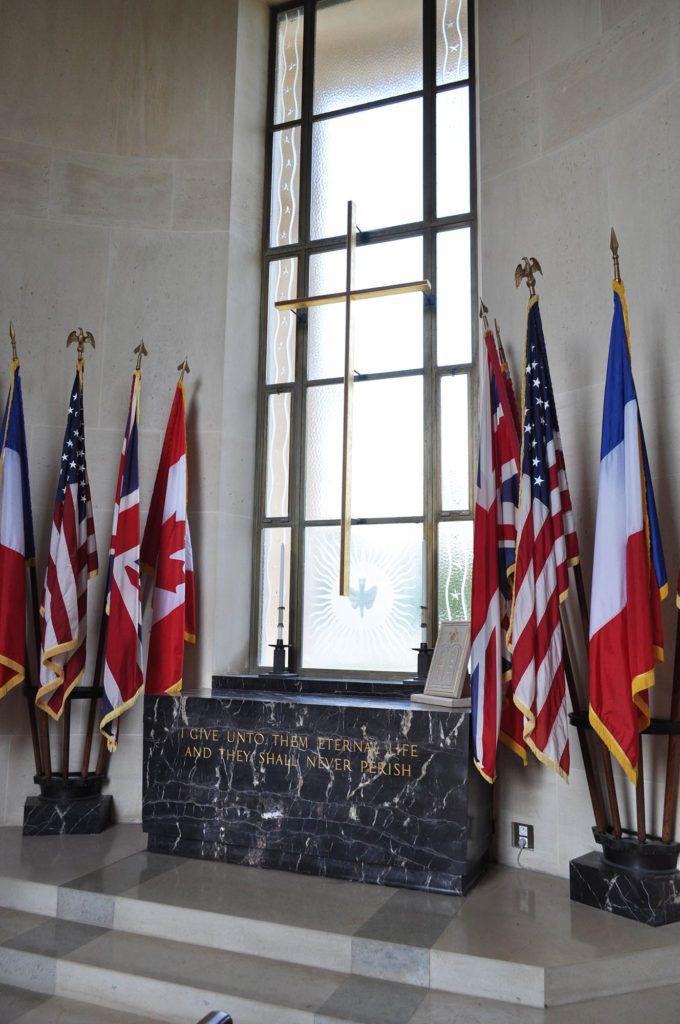 Viaje en autocaravana por Europa: Cementerio Americano de Normandía