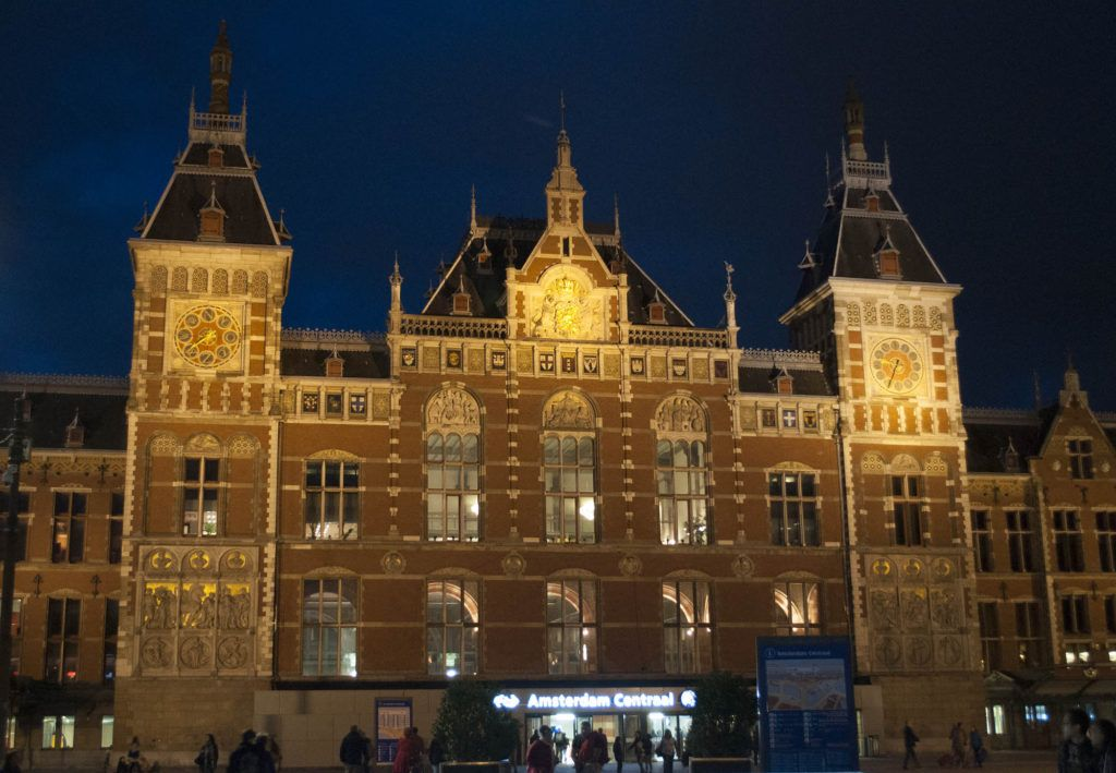 Viaje en autocaravana por Europa: Amsterdam