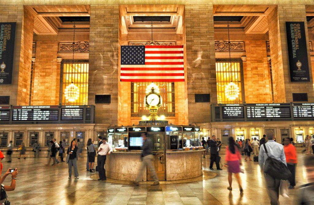 Qué ver en Nueva York: Grand Central Station - Seguro de viaje para Nueva York