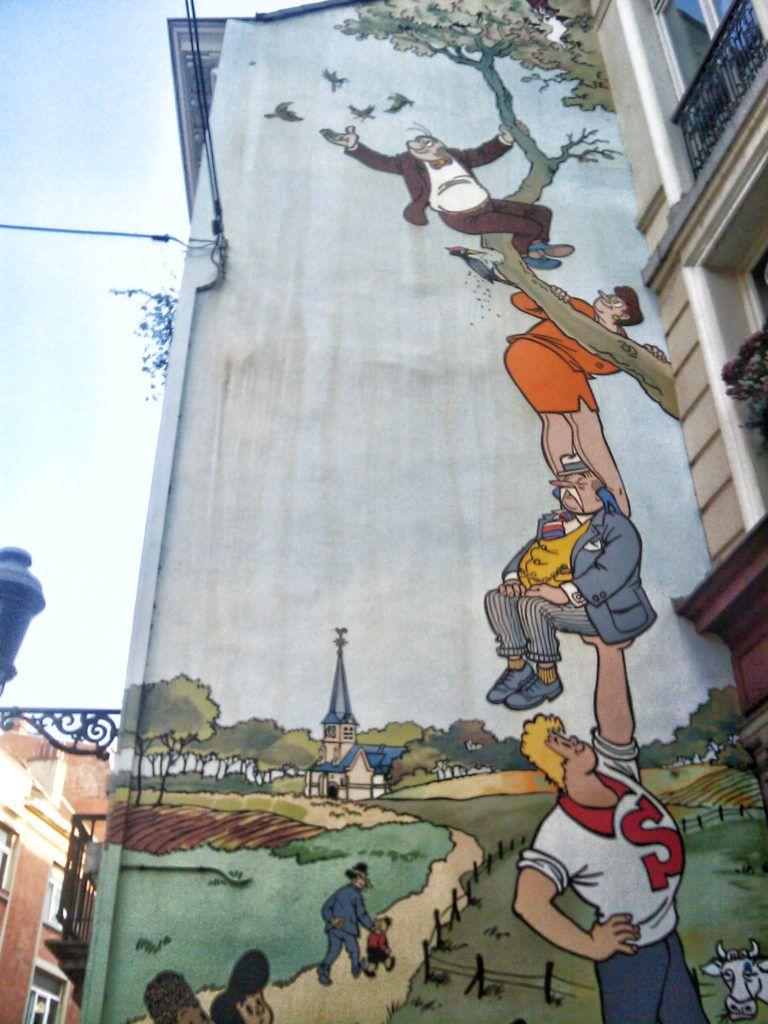 Qué ver en Bruselas: Tour del cómic
