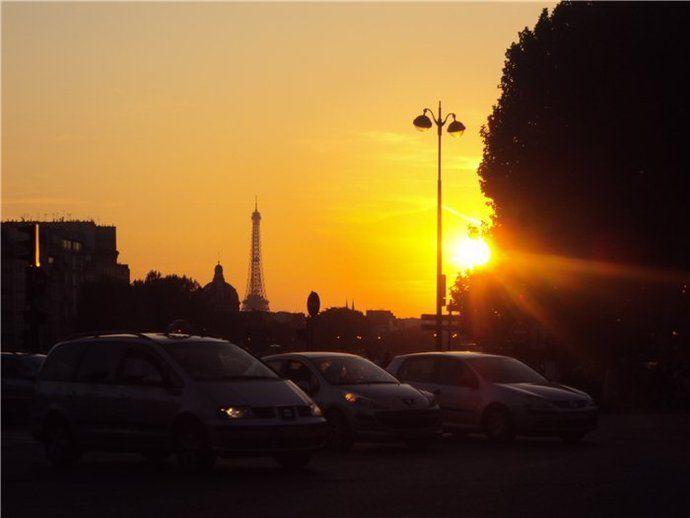 Qué ver en París: Atardecer en París