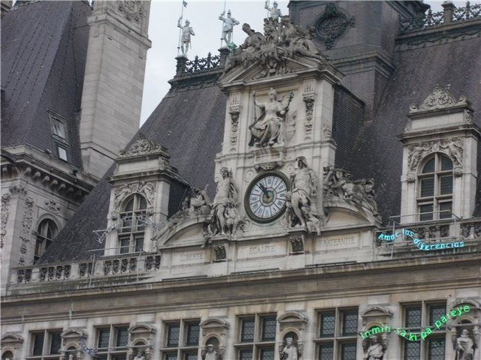 Qué ver en París: Ayuntamiento de París