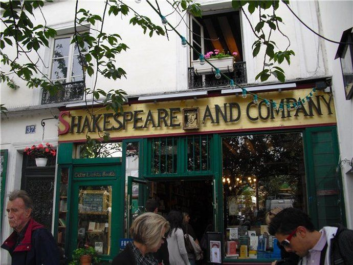 Qué ver en París: Shakespeare and Co