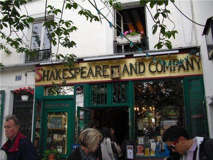 Qué ver en París: Shakespeare and Co