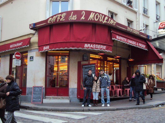 Qué ver en París: Cafe des Deux Moulins