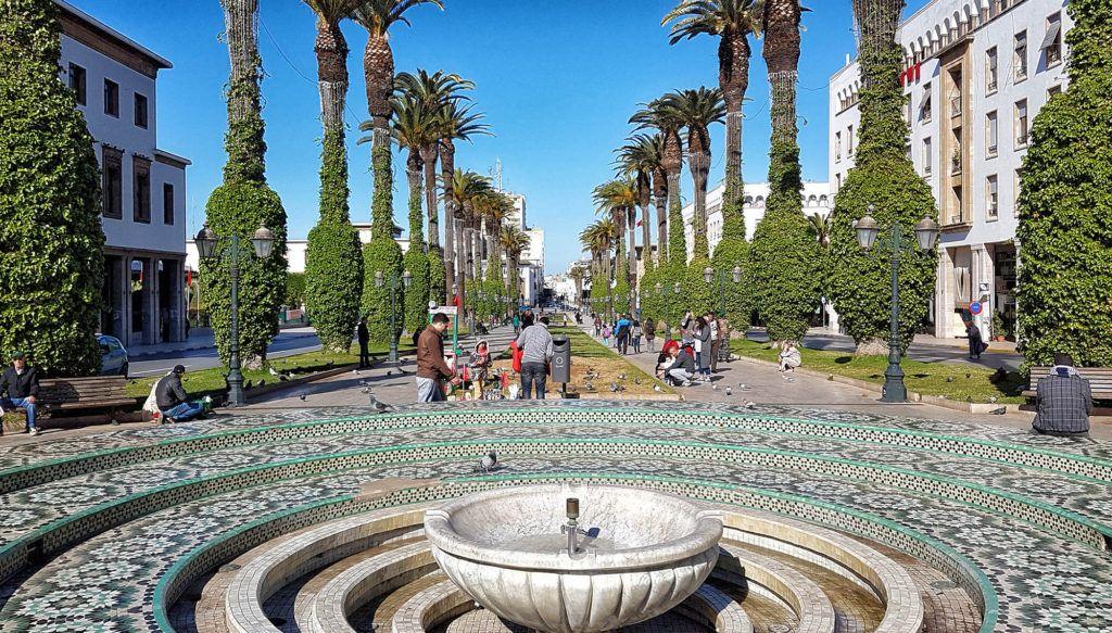 Qué ver en Rabat: Avenida de Mohammed V