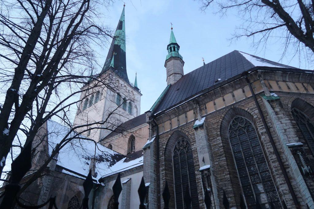 Qué ver en Tallín: Iglesia de San Olaf