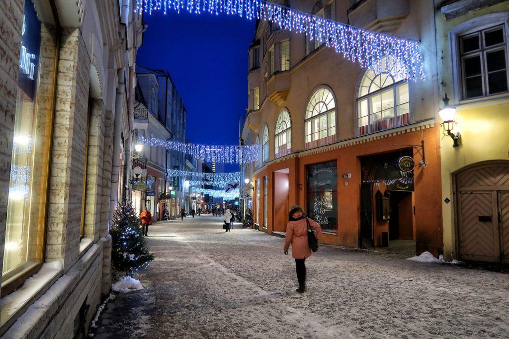 Qué ver en Tallín: Calle Viru