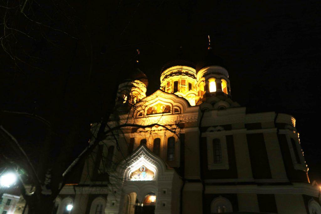 Qué ver en Tallín: Catedral de Aleksander Nevski