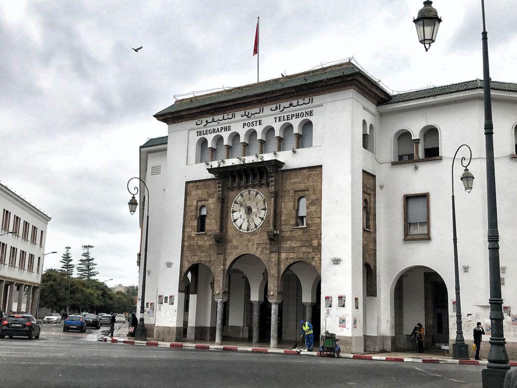 Qué ver en Rabat: Oficina de Correos