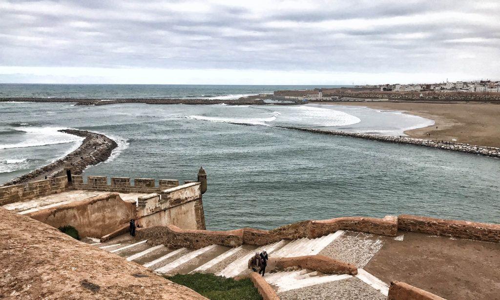 Qué ver en Rabat: Vistas desde la Kasbah de los Oudayas