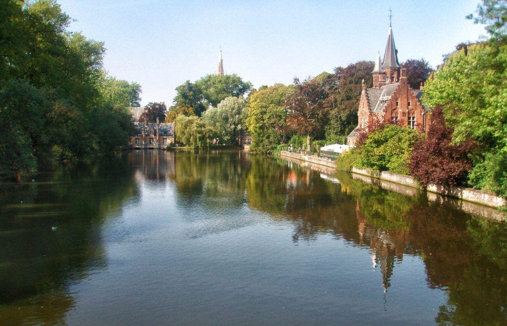 Qué ver en Brujas: Minnewater Park