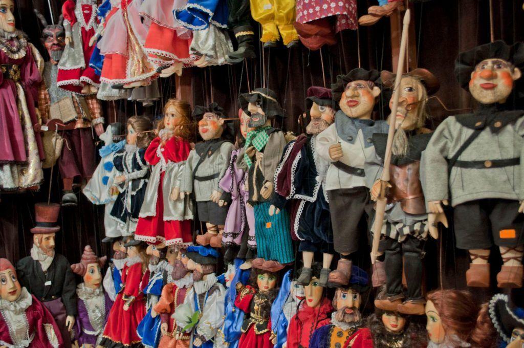 Qué ver en Praga: Tienda en el Callejón de Oro