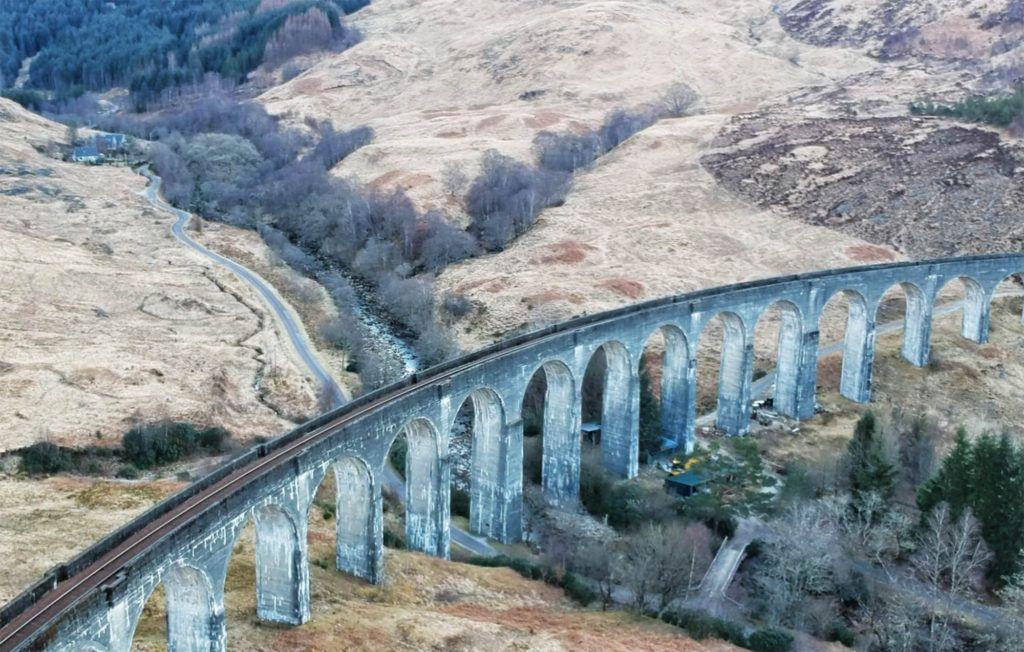 Ruta por Escocia en coche: Viaducto de Glenfinnan