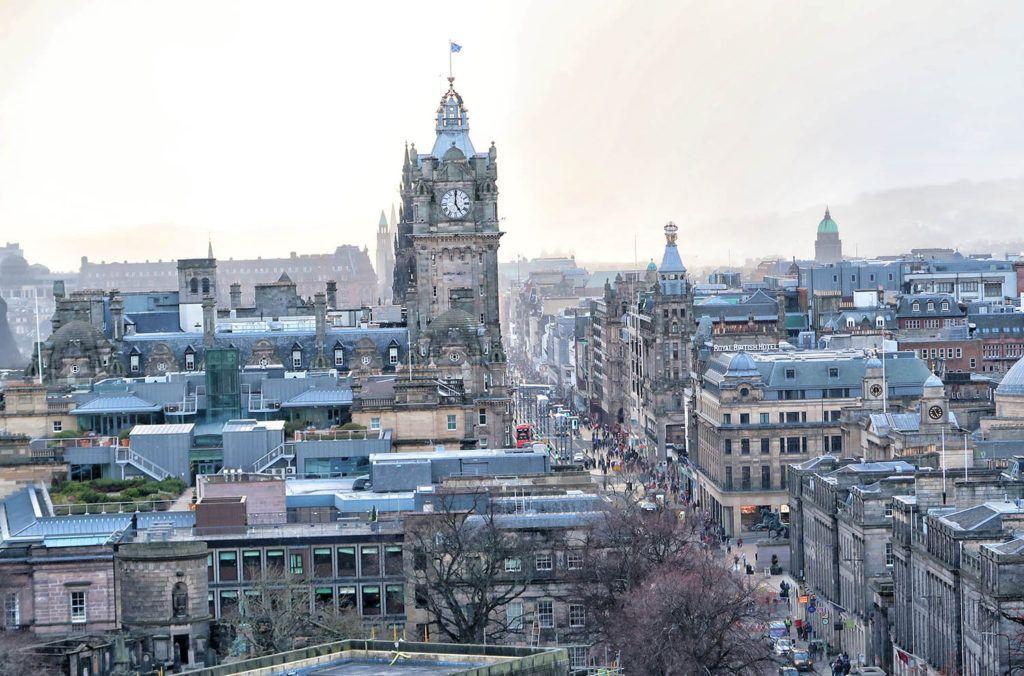 Qué ver en Edimburgo: Hotel Balmoral