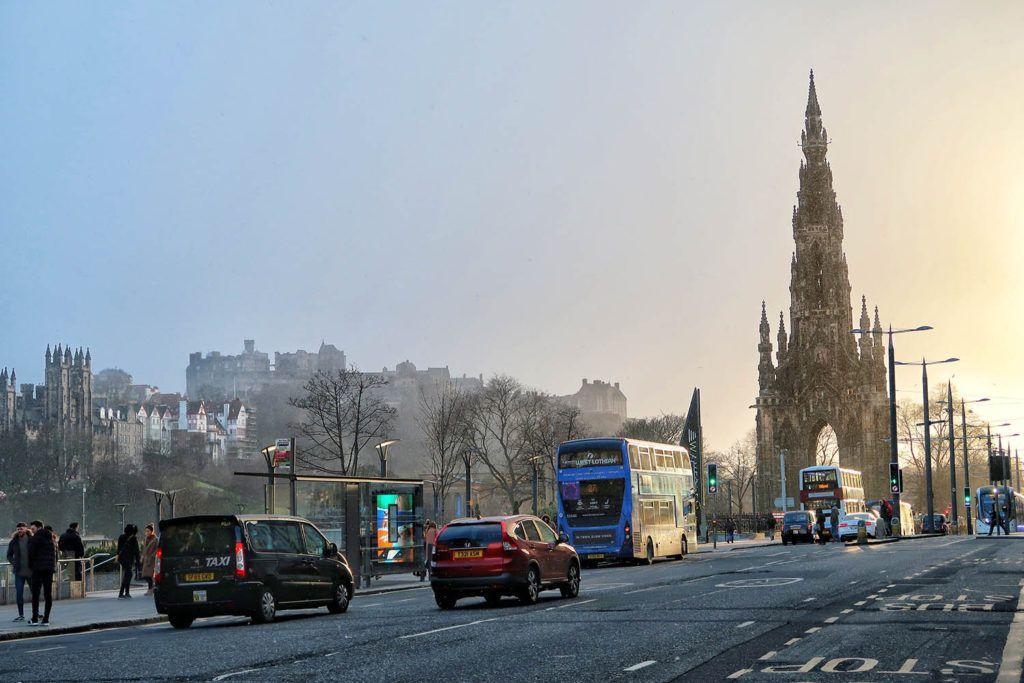 Qué ver en Edimburgo: Princes Street