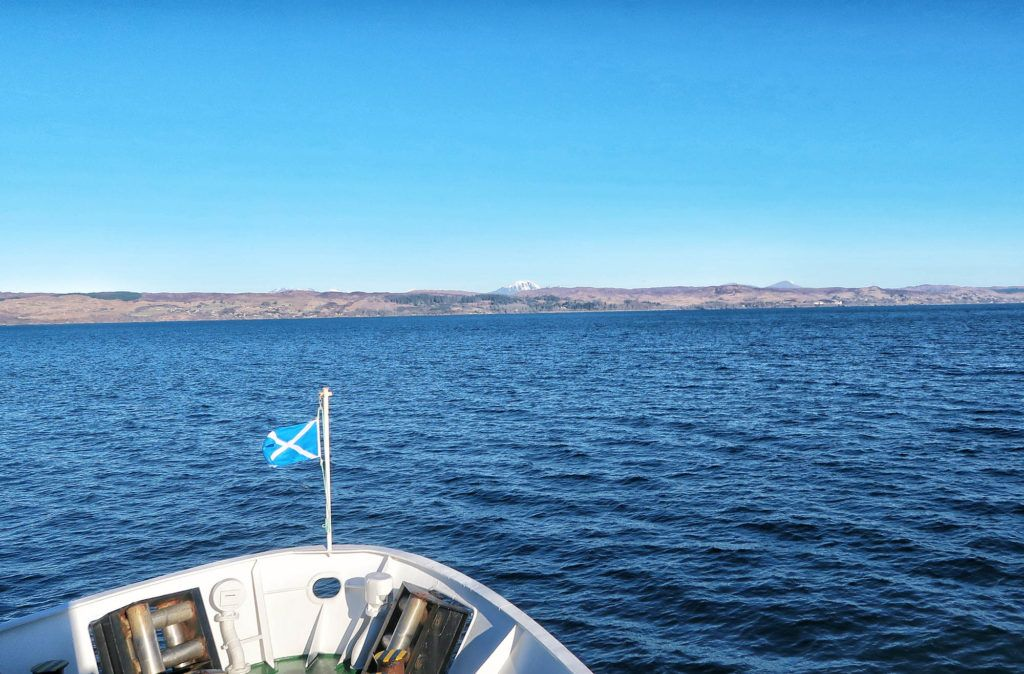 Ruta por Escocia en coche: Ferry a la isla de Skye