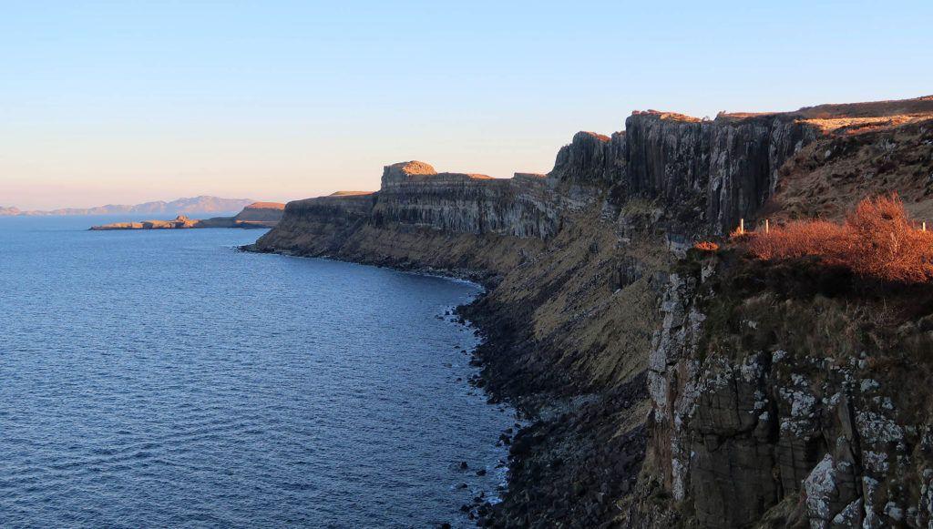 Ruta por Escocia en coche: Acantilados de Skye