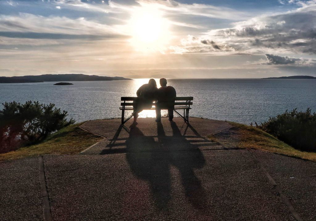 Guía de Escocia: Atardecer en Gairloch