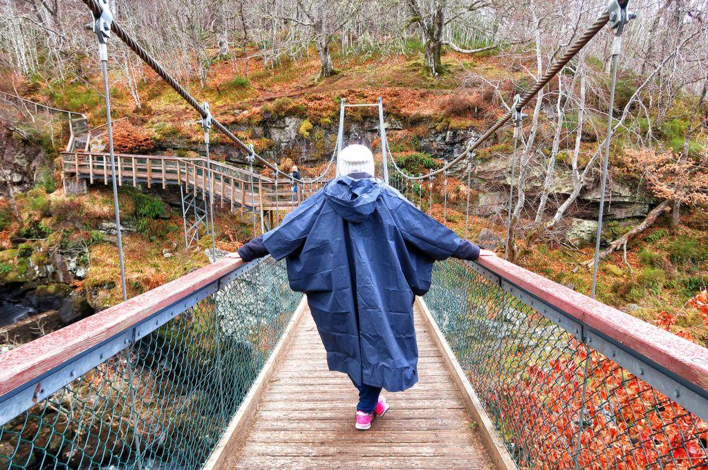 Guía de Escocia: Rogie Falls