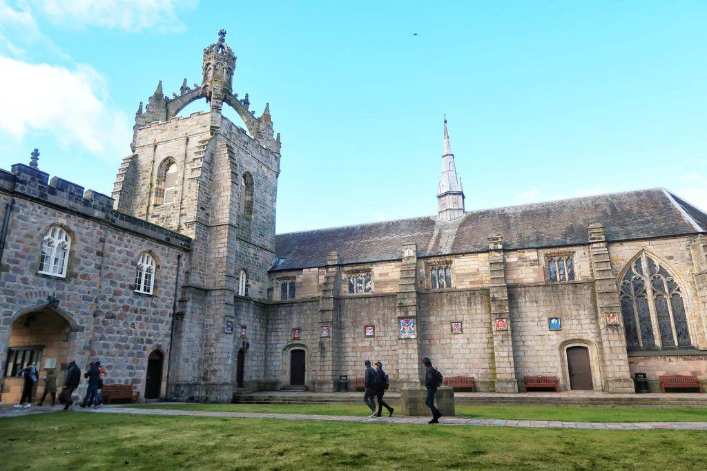 Guía de Escocia: Universidad de Aberdeen