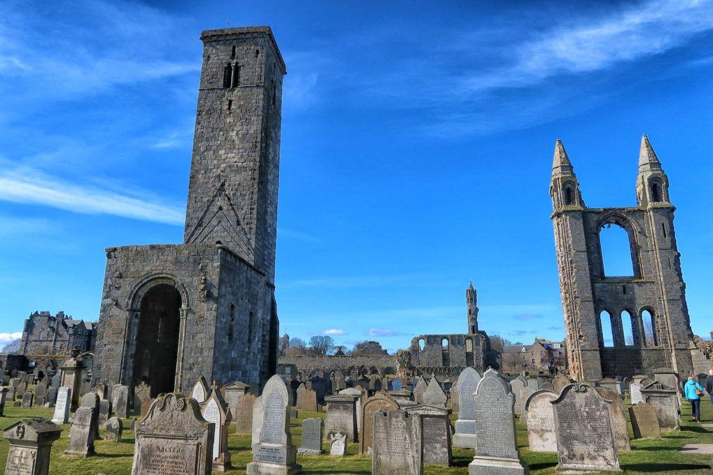 Guía de Escocia: Catedral de Saint Andrews