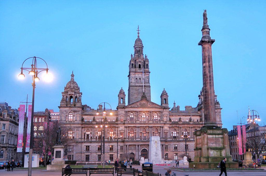 Guía de Escocia: Ayuntamiento de Glasgow