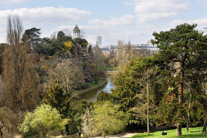 Qué ver en París: Parque de Buttes Chaumont