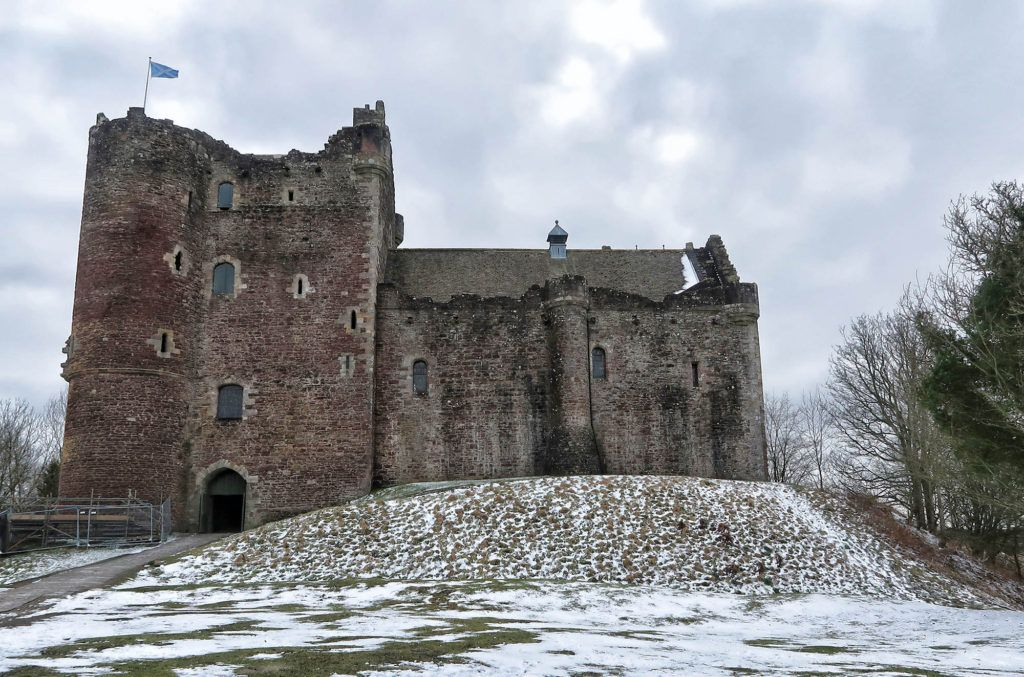 Ruta por Escocia en coche: Castillo de Doune