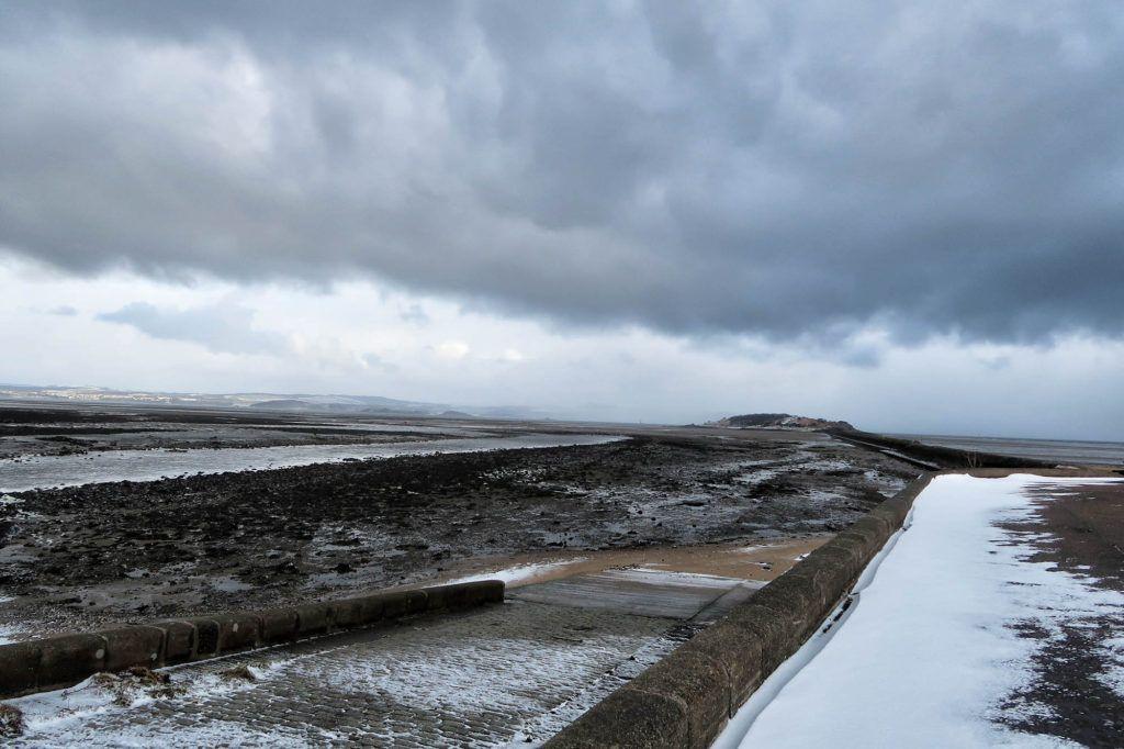 Ruta por Escocia en coche: Cramond Beach