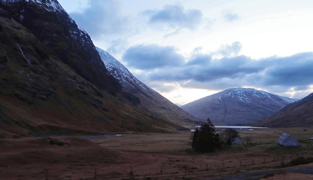 Ruta por Escocia en coche: Glencoe