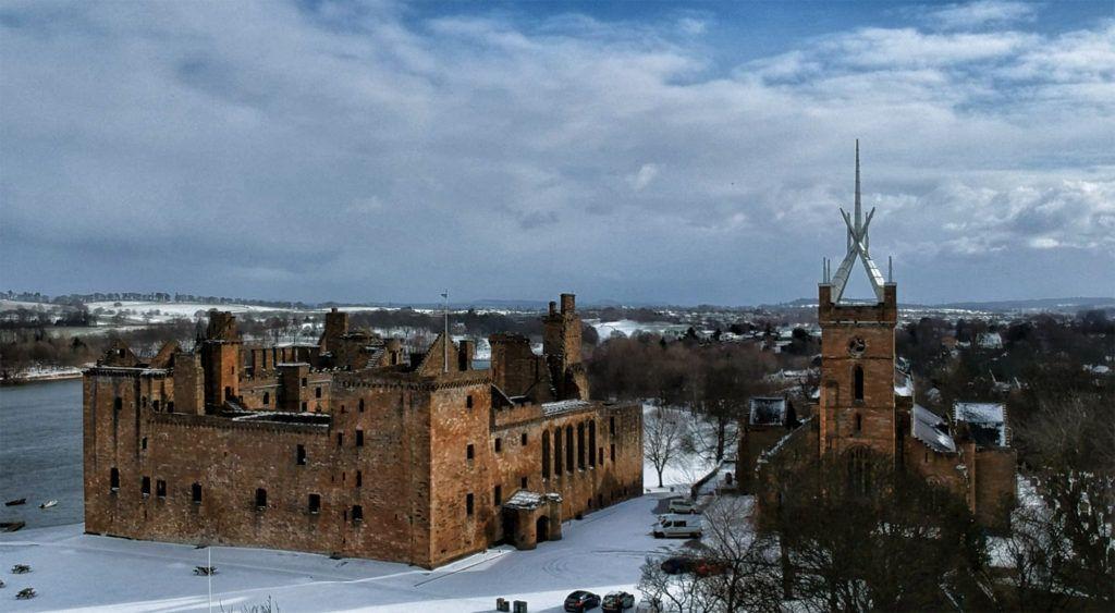 Ruta por Escocia en coche: Castillo de Linlithgow