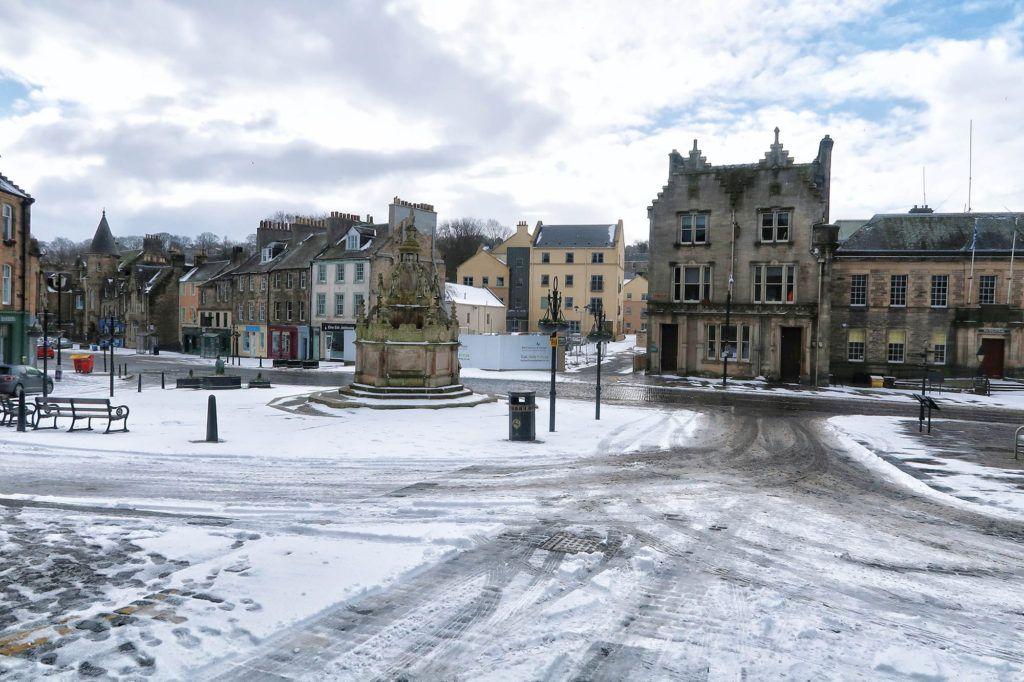 Ruta por Escocia en coche: Linlithgow