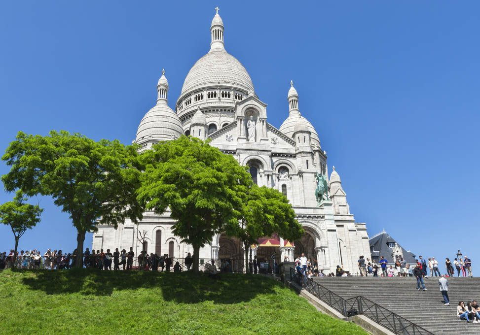 Qué ver en París: Sacre Coeur