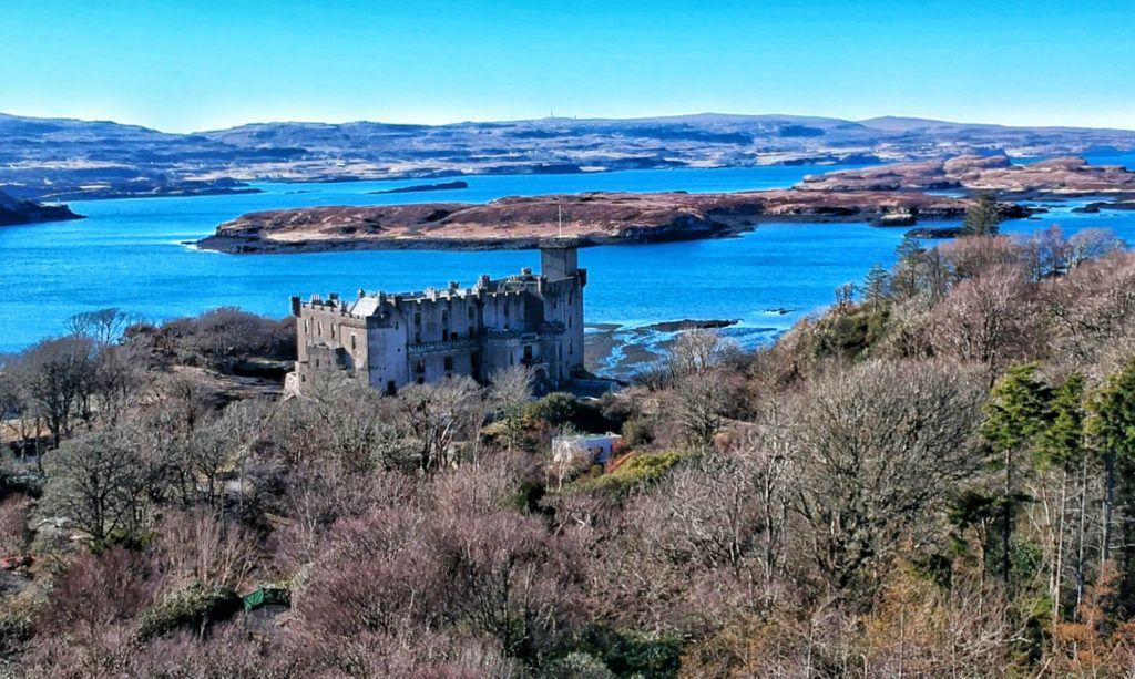 Las mejores excursiones y tours en Escocia: Dunvegan Castle en la isla de Skye