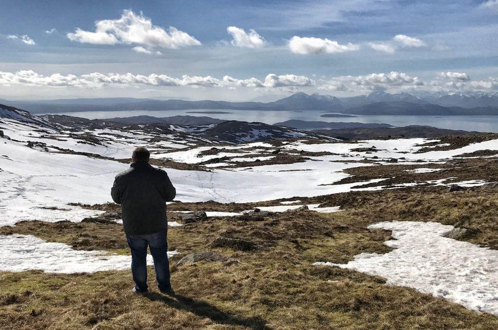 Ruta por Escocia en coche: Bealach Na Ba Viewpoint