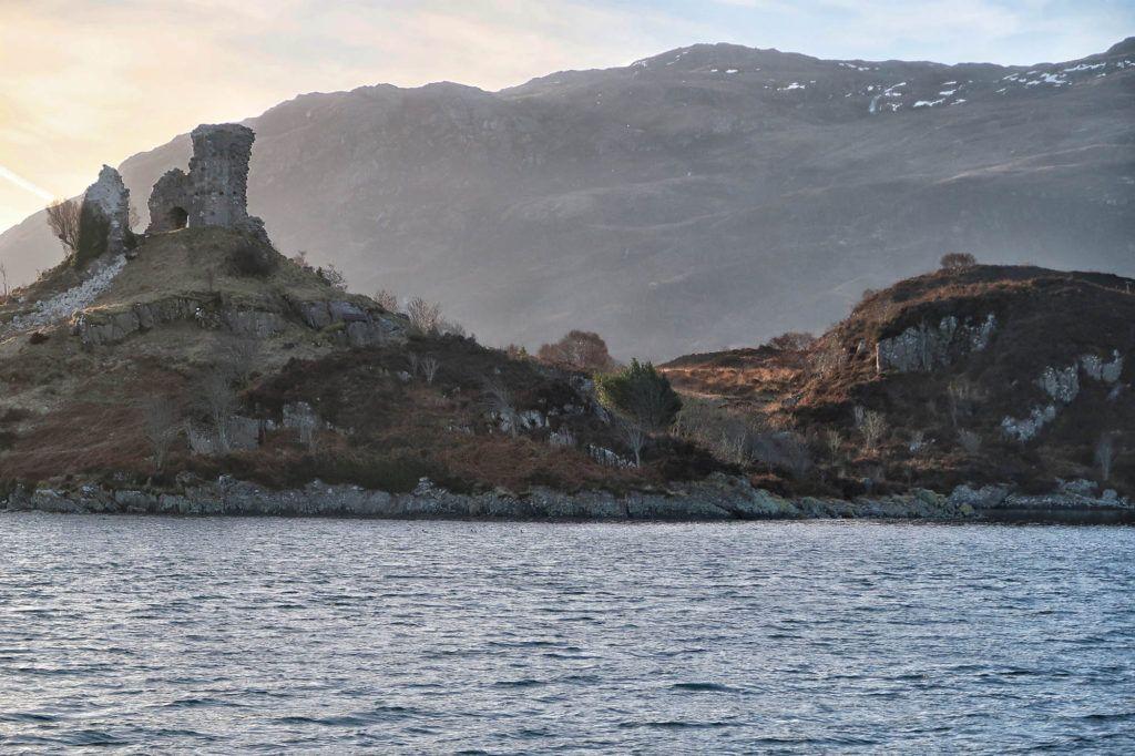Ruta por Escocia en coche: Caisteal Maol