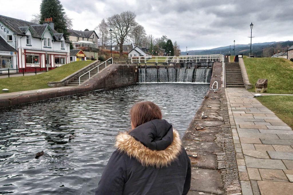 Un día en el Lago Ness: Exclusas del Canal de Caledonia en Fort Augustus