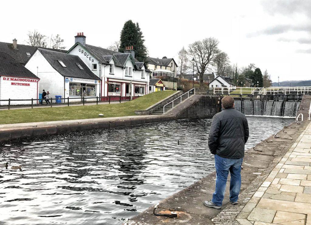 Las mejores excursiones y tours en Escocia: Exclusas del Canal de Caledonia en Fort Augustus