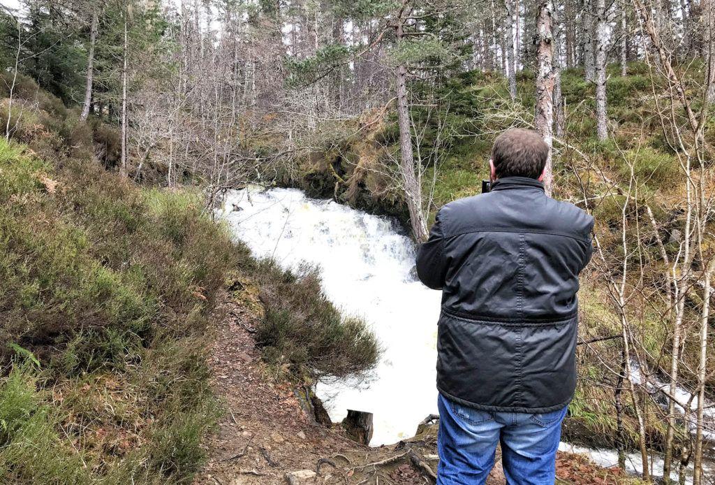 Un día en el Lago Ness: Dog Falls