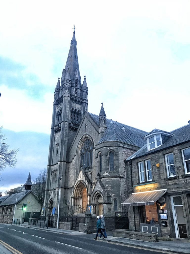 Qué ver en Inverness: Old High Church