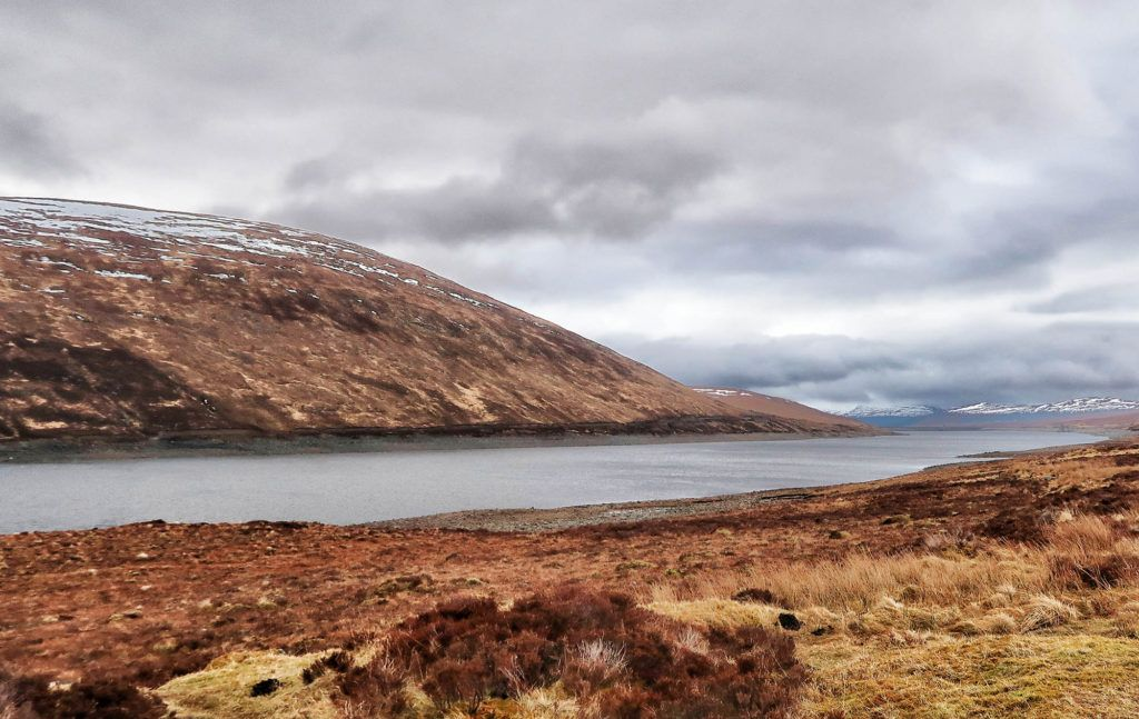 Ruta por Escocia en coche: Loch Glascarnoch