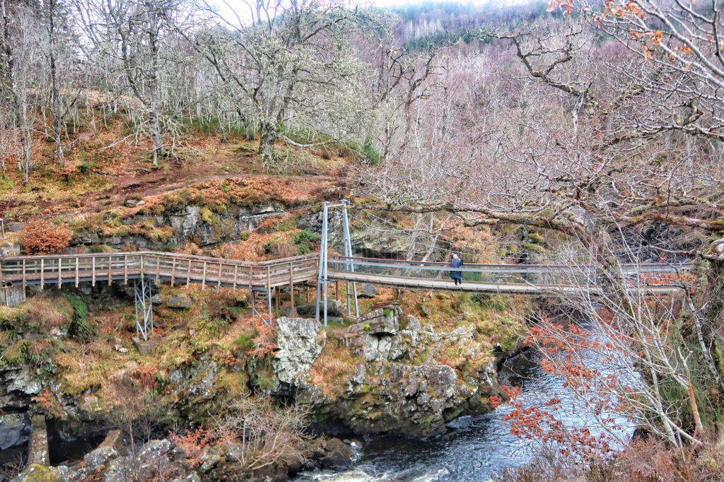 Rogie FallsRuta por Escocia en coche: Rogie Falls