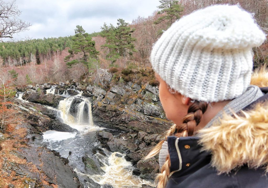 Ruta por Escocia en coche: Rogie Falls