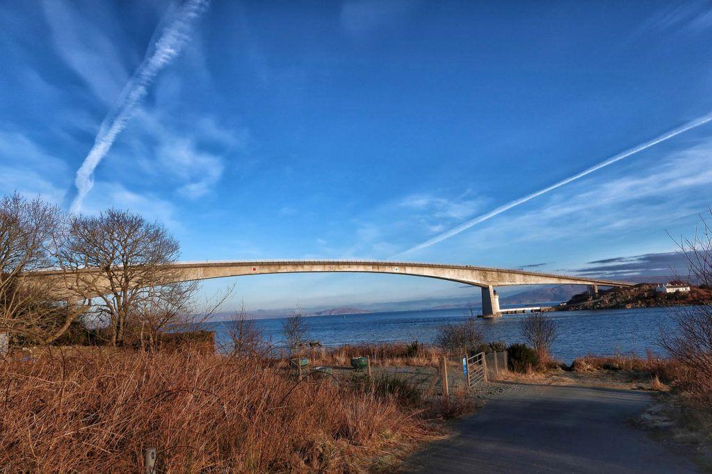 Ruta por Escocia en coche: Skye Bridge