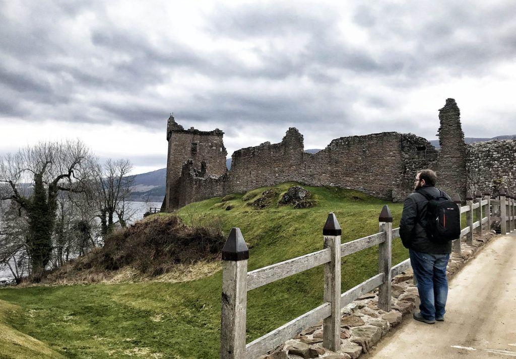 Un día en el Lago Ness: Urquhart Castle