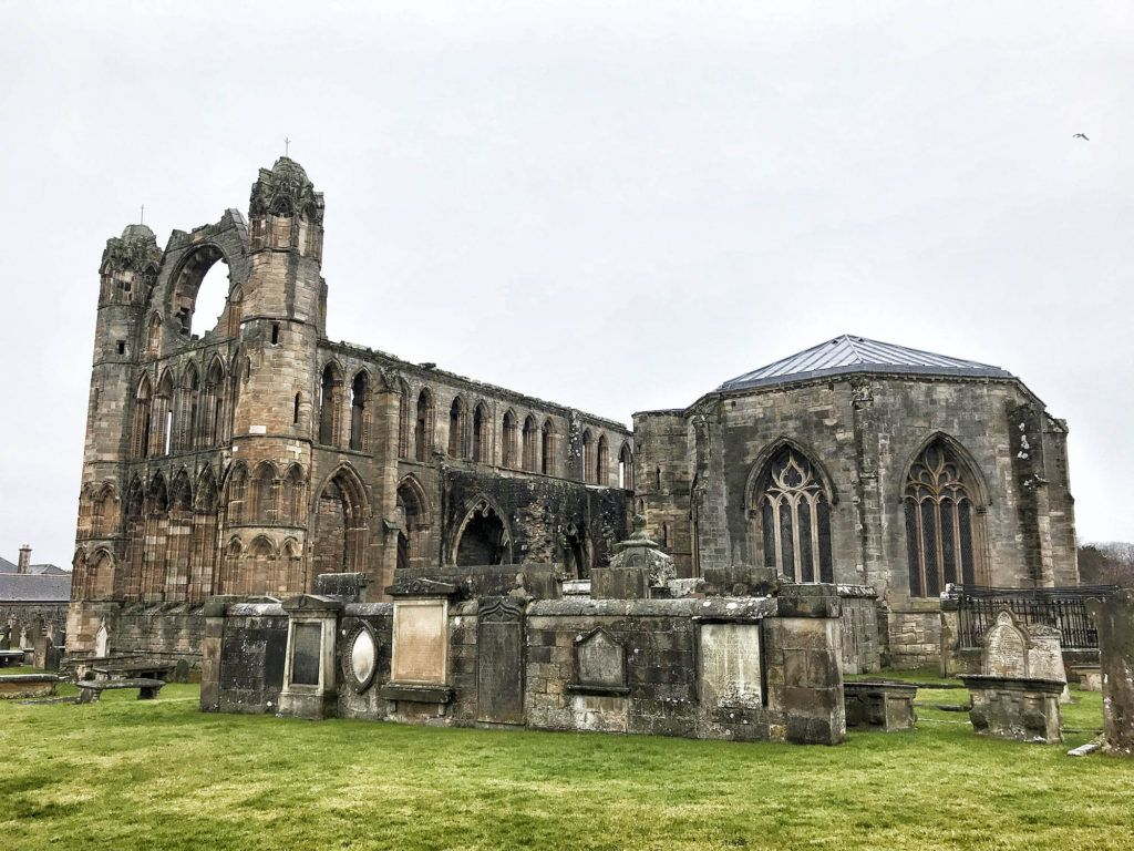 Ruta por Escocia en coche: Catedral de Elgin